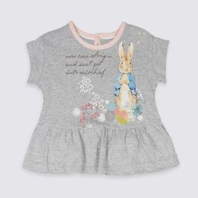 Футболка для девочки Кролик (код товара: 48305): купить в Berni
