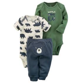 Комплект для мальчика 3 в 1 Little baby bear (код товара: 48386): купить в Berni