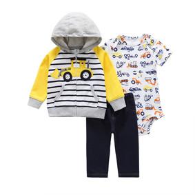 Комплект для мальчика 3 в 1 Техника (код товара: 48382): купить в Berni