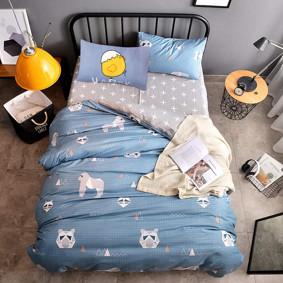 Комплект постельного белья Горилла (двуспальный-евро) (код товара: 48317): купить в Berni