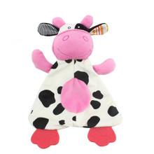 Мягкая игрушка с прорезывателем Коровка оптом (код товара: 48351)