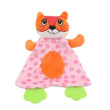 Мягкая игрушка с прорезывателем Лиса оптом (код товара: 48350)
