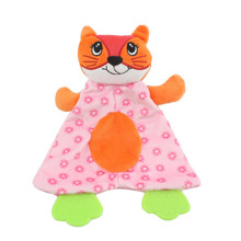 М'яка іграшка з прорізувачем Лисиця оптом (код товара: 48350)