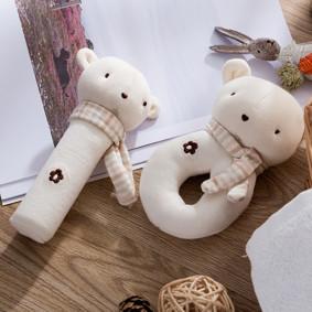 Набор мягких игрушек - погремушек Медвежата (код товара: 48361): купить в Berni