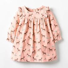 Платье для девочки Косуля (код товара: 48302)