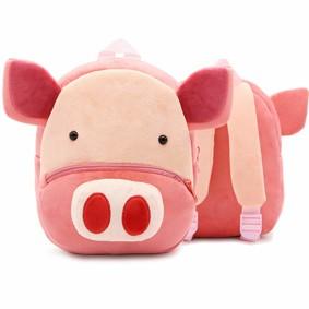 Рюкзак велюровий Свинка (код товару: 48322): купити в Berni