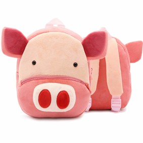 Рюкзак велюровый Свинка оптом (код товара: 48322): купить в Berni