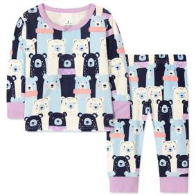 Костюм для девочки 2 в 1 Медведи (код товара: 48479): купить в Berni