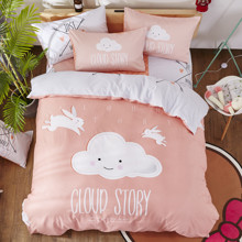 Уценка (дефекты)! Комплект постельного белья История облака (двуспальный-евро) (код товара: 48455)