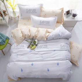 Уценка (дефекты)! Комплект постельного белья Любовь (двуспальный-евро) (код товара: 48462): купить в Berni