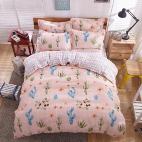 Комплект постельного белья Розовая пустыня  (евро) (код товара: 48541): купить в Berni