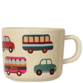 Чашка из бамбукового волокна Машины (код товара: 48657): купить в Berni