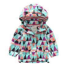 Куртка дитяча демісезонна Трикутники оптом (код товара: 48625)
