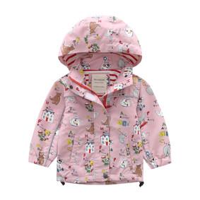 Куртка для девочки Азбука (код товара: 48626): купить в Berni