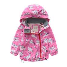 Куртка для девочки Единороги (код товара: 48621)