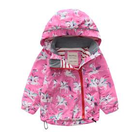 Куртка для девочки Единороги (код товара: 48621): купить в Berni
