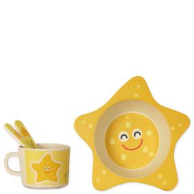 Набор посуды из бамбукового волокна Морская звезда (код товара: 48659): купить в Berni
