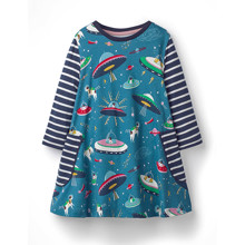 Платье для девочки НЛО (код товара: 48630)