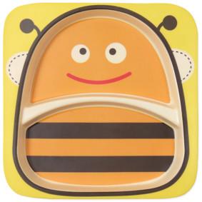 Тарелка из бамбукового волокна Пчела (код товара: 48669): купить в Berni