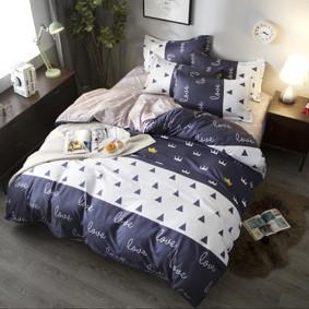 Уценка (дефекты)! Комплект постельного белья Корона (полуторный) (код товара: 48694): купить в Berni