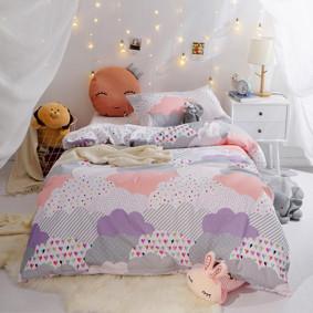 Уценка (дефекты)! Комплект постельного белья Облака (полуторный) (код товара: 48690): купить в Berni