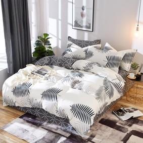 Уценка (дефекты)! Комплект постельного белья Папоротник Вайя (двуспальный-евро) (код товара: 48682): купить в Berni