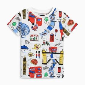 Детская футболка Лондон (код товара: 48767): купить в Berni