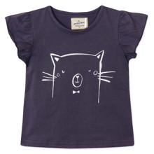Футболка для девочки Кот (код товара: 48722)