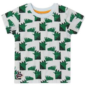 Футболка для мальчика Крокодилы (код товара: 48736): купить в Berni
