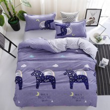 Комплект постельного белья Пегас (полуторный) (код товара: 48793)