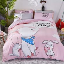 Комплект постельного белья Слон (полуторный) (код товара: 48751)