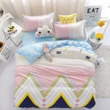 Комплект постельного белья Удивительный узор (двуспальный-евро) (код товара: 48797)