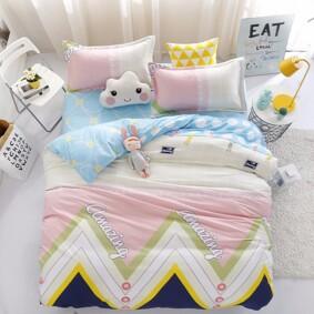 Комплект постельного белья Удивительный узор (двуспальный-евро) (код товара: 48797): купить в Berni