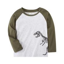 Лонгслив для мальчика Динозавр оптом (код товара: 48749)