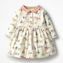 Платье для девочки Животные (код товара: 48770)