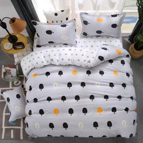 Уценка (дефекты)! Комплект постельного белья Безмятежный лес  (полуторный) (код товара: 48714): купить в Berni