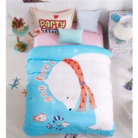 Уценка (дефекты)! Комплект постельного белья Полярный медведь (полуторный) (код товара: 48713): купить в Berni