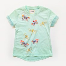 Футболка для девочки Бабочки (код товара: 48899)