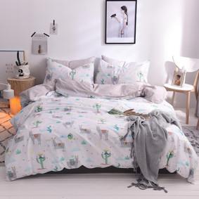 Комплект постельного белья Альпака (двуспальный-евро) (код товара: 48844): купить в Berni