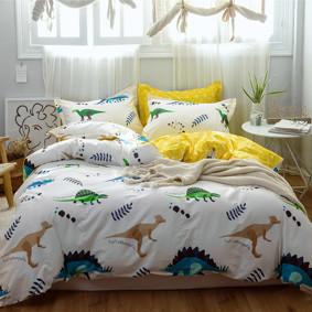 Комплект постельного белья Динозавры (двуспальный-евро) (код товара: 48835): купить в Berni