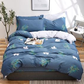 Комплект постельного белья Тропический цветок (двуспальный-евро) (код товара: 48868): купить в Berni