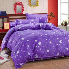 Комплект постельного белья Звезды (двуспальный-евро) (код товара: 48826): купить в Berni