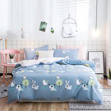 Уценка (дефекты)! Комплект постельного белья Ферма (двуспальный-евро) (код товара: 48887)