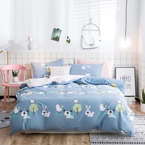 Уценка (дефекты)! Комплект постельного белья Ферма (двуспальный-евро) (код товара: 48887): купить в Berni