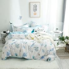 Комплект постельного белья Голубая птичка (двуспальный-евро) (код товара: 48974)