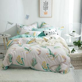 Комплект постельного белья Колоски (двуспальный-евро) (код товара: 48972): купить в Berni