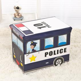 Пуф-ящик для игрушек Полицейский фургон (код товара: 48995): купить в Berni