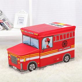 Пуф-ящик для игрушек Пожарная машина (код товара: 48999): купить в Berni