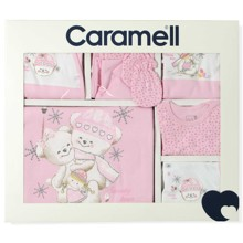 Комплект 10 в 1 для новорожденной девочки Caramell  (код товара: 4902)