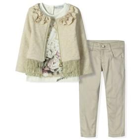 Костюм 3 в 1 для девочки Baby Rose (код товара: 4914): купить в Berni